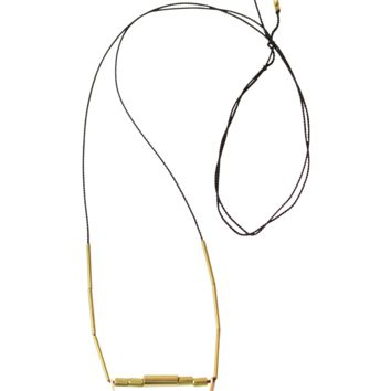 Darcy Brass Assemblage Necklace