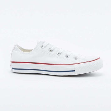 Converse All Star Chuck Taylor Low White Trainers - Urban Outfitters