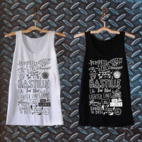 bastille collage  best customized design for Tank top Mens and Tank top Girls , sizes S - XXL