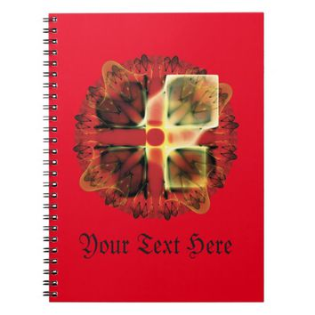 Fractal pattern notebook