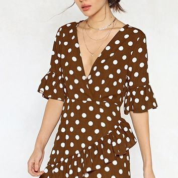 You Dot This Polka Dot Dress