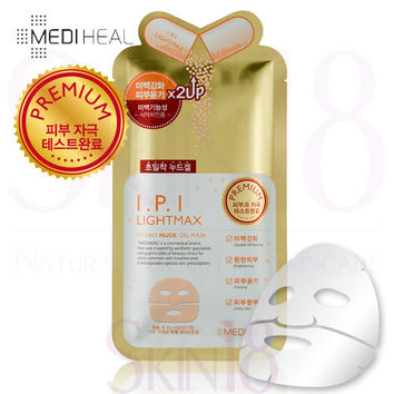 Mediheal I.P.I Lightmax Hydro Nude (x2up) Gel Mask