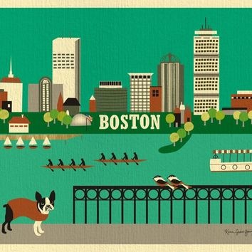 Boston, Massachusetts -  Horizontal