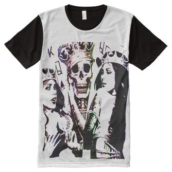 KINGS,QUEENS All-Over-Print T-Shirt