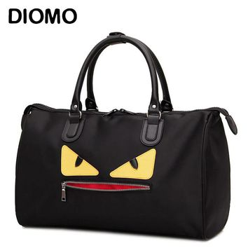 DIOMO 2017 little monster travel bag female nylon duffle waterproof women luggage travel bags weekend overnight bag