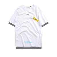 Cheap Women's and men's OFF-WHITE t shirt for sale 85902898_0210