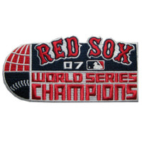 Boston Red Sox 2007 World Series Champions Official Patch