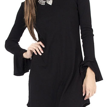 The Fly Away Dress in Black