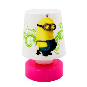 Cartoon Minions LED Night Light Small Cute Minions Table Desk Lamp Led Nightlights For Children Girls Baby Gift Sleeping