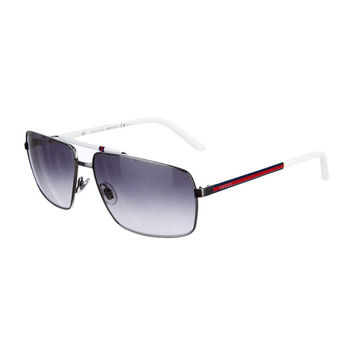 Gucci Aviator Style White Sunglasses