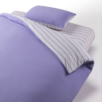 Hot Deal Bedroom On Sale Cotton Knit Stripes Bed Sheet Bedding Bedding Set [6451766598]