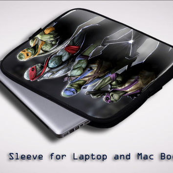 Ninja Turtles Z1508 Sleeve for Laptop, Macbook Pro, Macbook Air (Twin Sides)
