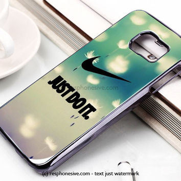 Cool Just Do It Nike Art Samsung Galaxy S6 and S6 Edge Case