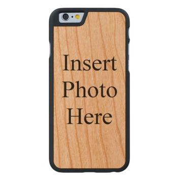 Create Your Own Custom Carved® Cherry iPhone 6 Case
