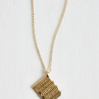 Quirky, Scholastic An Open Book Necklace by ModCloth