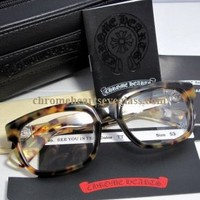 Chrome Hearts Eyeglasses See You In Tea TT [Chrome Hearts Eyeglasses See You] - $205.99 : Chrome hearts online shop:chrome hearts jewelry 2012 collection!