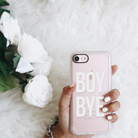 Girlish iPhone 7 & 7 Plus Case (Boy Bye Pattern) by Casetify