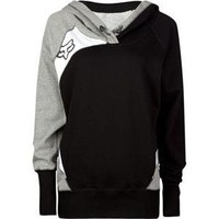 Fox Racing Women's Exhaust Pullover Hoody - Medium/Black