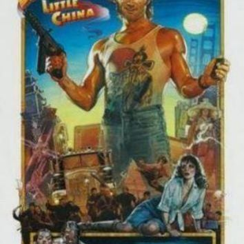 Big Trouble In Little China movie poster Sign 8in x 12in