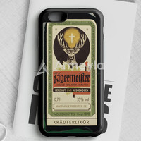 Jagermeister Retro Bottle iPhone 6/6S Case | armeyla.com