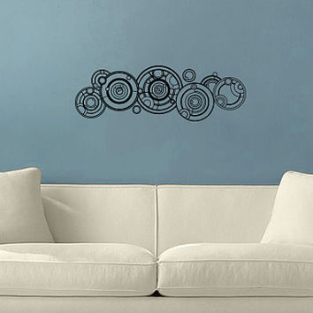 Doctor Who Gallifreyan Name Wall Vinyl