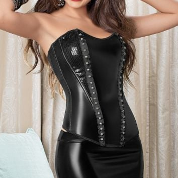 Studded Hussy Corset