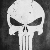 The PUNISHER! Art Print by John Medbury (LAZY J Studios) | Society6