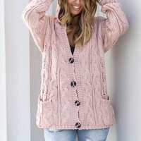 Mythical Kind Cable Knit Cardigan