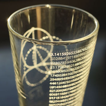 Pi Theorem Pint Glass