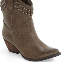 Very Volatile 'Lunet' Studded Western Bootie (Women) | Nordstrom
