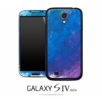 Abstract Oil Skin for the Galaxy S4