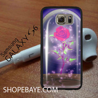 rose beauty and the beast 3 For galaxy S6, Iphone 4/4s, iPhone 5/5s, iPhone 5C, iphone 6/6 plus, ipad,ipod,galaxy case