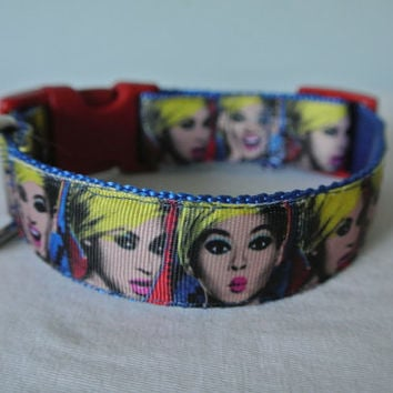 "Beyonce Dog Collar - 1"" Adjustable"