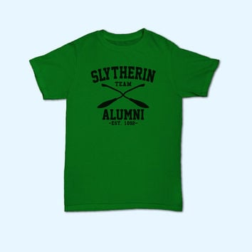 Team Slytherin Alumni Harry Potter Slytherin House Logo T-Shirt - Gift for friend - Present