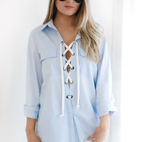 Malibu Lace Up Top