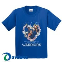 Just A Girl That Loves The Warriors T Shirt Women And Men Size S To 3XL