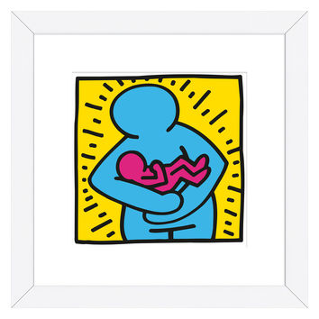 KH010 by Keith Haring (Framed)