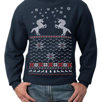 Ugly Christmas Sweater (Unicorns)