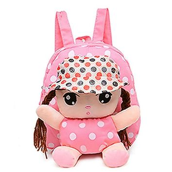 Toddler Backpack class 2017 Cute Kids Child Canvas Cartoon Backpack Baby Toddler Girl Schoolbag Shoulder Bag Gift Soft Colorful Small Mini Lovely Bag AT_50_3
