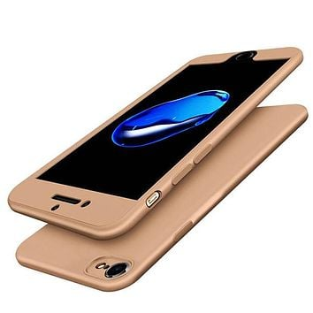 Ultra Thin Full Protective Shell Back Cover Case for iPhone 8, 8 Plus, 7, 7 Plus,