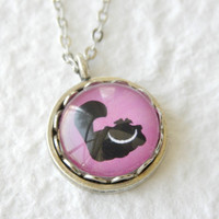 The Cheshire Cat Petite Disney Necklace - Inspired by Disney's Alice in Wonderland