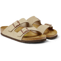 Birkenstock - Arizona Suede Sandals | MR PORTER