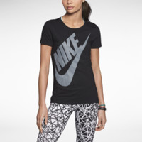 Nike Reflective Futura Women's T-Shirt - Black