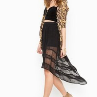 Laced Tail Skirt in  Clothes Bottoms at Nasty Gal