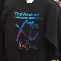 XO The Weeknd Drake YMCMB Galaxy Nebula Sweatshirt, Unisex Adult Sweatshirt