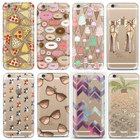 Transparent Soft Silicone Tpu Cover Case For Apple Iphone 6 Case 6s Case