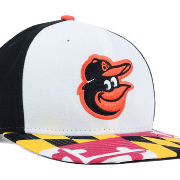 Baltimore Orioles MLB Flag Up 9FIFTY Snapback Cap