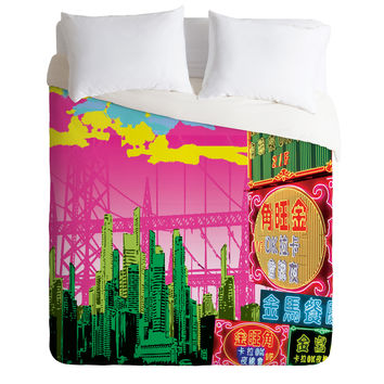 Amy Smith Hong Kong Trial Duvet Cover
