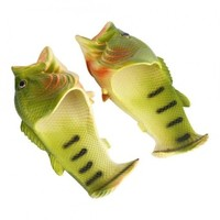 Unisex Funny Animal Slippers Beach Fish Sandals Shower Flip Flops (36-37) - intl