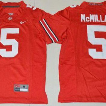 DCCKD9A Nike Youth Ohio State Buckeyes Raekwon McMillan 5 College Ice Hockey Jerseys - Red Size S,M,L,XL